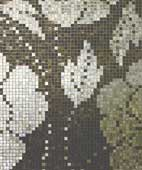 Wall Decor in Mosaic with Floral Design
