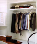 Bedroom Storage Ideas - Open Shelves