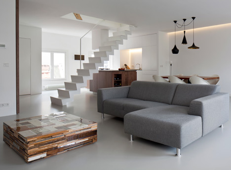 Made Of Steel, This Staircase By Laura Alvarez Architecture Acts As A  Divider Of Sorts Between The Kitchen And Lounge Area For An Open Plan  Concept. Part 39