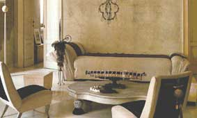 Ivory Walls with Matching Furniture